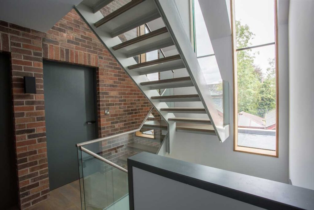 Steel Staircases in Cheshire
