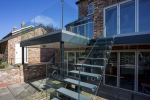 steel staircases in Marple