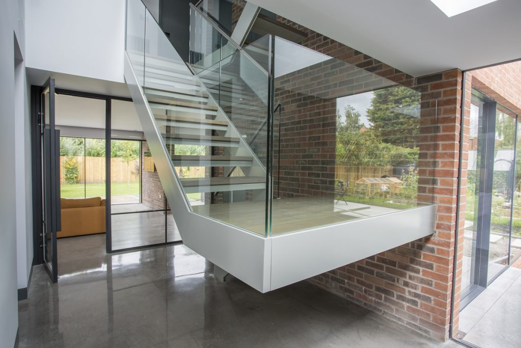 Cantilever Stairs in Cheshire